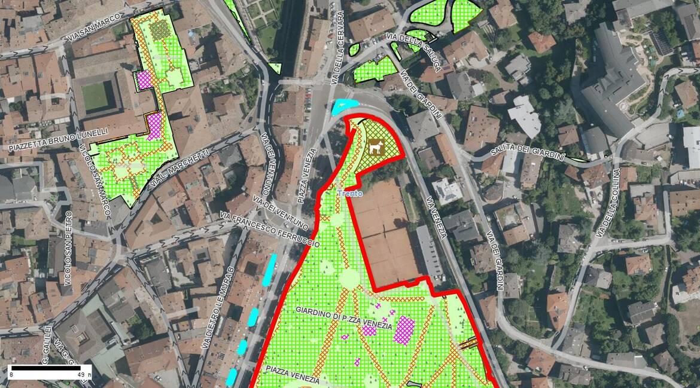 Giardino piazza Venezia / Elenco parchi e giardini / Mappa parchi e ...