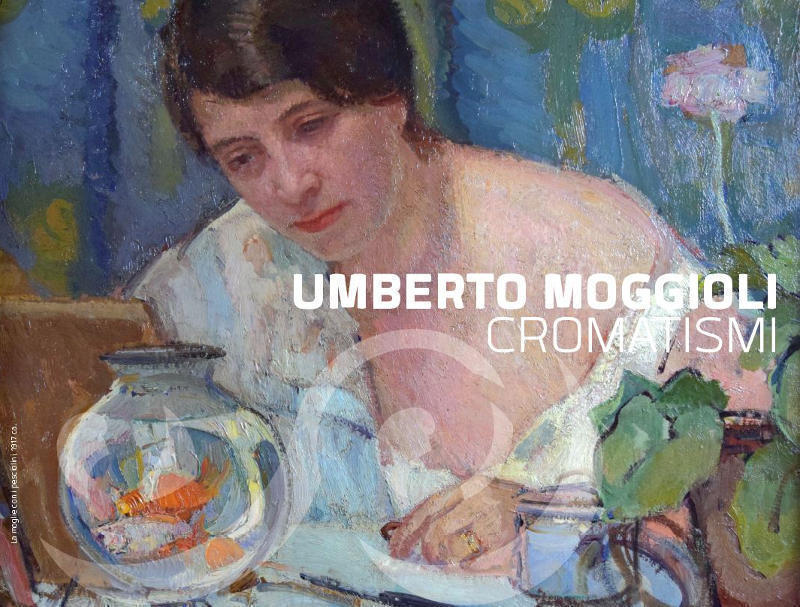 umberto moggioli, la moglie con i pesciolini, 1917 ca.