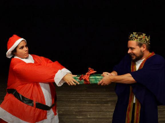 Babbo Natale alla corte del re