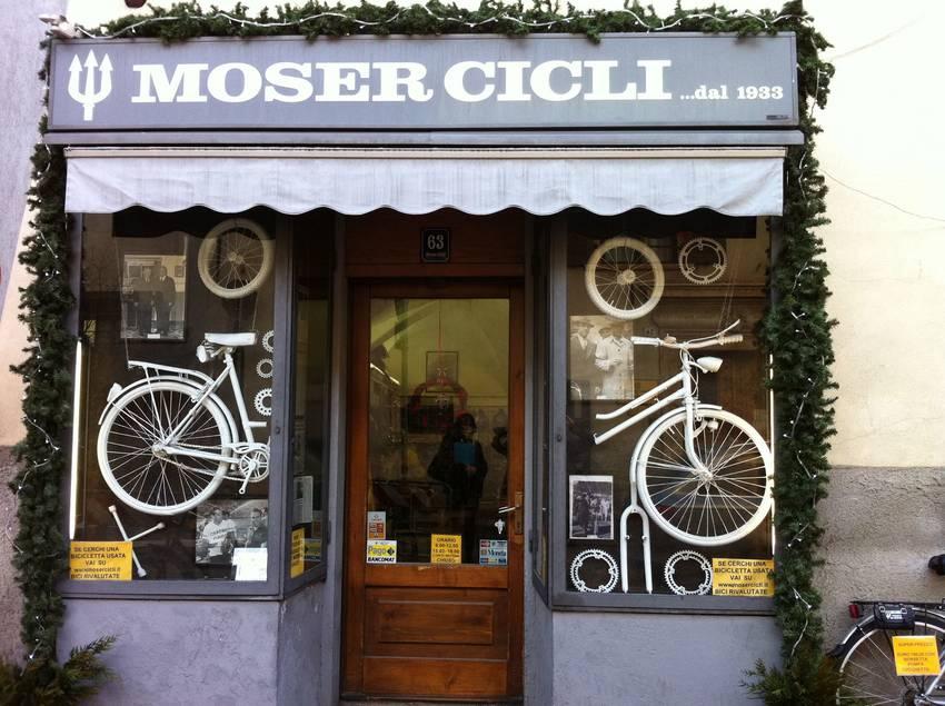 Moser cicli botteghe storiche qualificazione del for Abc arredamenti trento orari